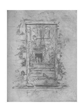 'Garden', 1880, (1904) by James Abbott McNeill Whistler