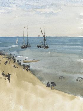 Green and Silver - the Bright Sea, Dieppe, C.1883-85 by James Abbott McNeill Whistler
