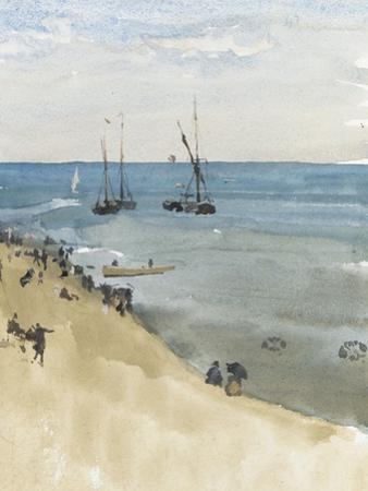 Green and Silver - the Bright Sea, Dieppe, C.1883-85
