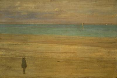 Harmony in Blue and Silver: Trouville, 1865 by James Abbott McNeill Whistler