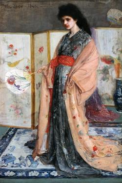 La Princesse Du Pay De La Porcelaine, 1864 by James Abbott McNeill Whistler