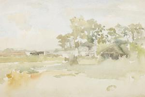Landscape with Farm Buildings, C.1884 by James Abbott McNeill Whistler