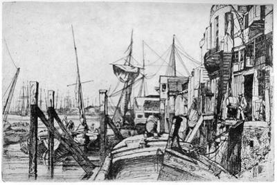 Limehouse, 19th Century by James Abbott McNeill Whistler