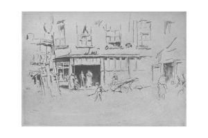 'Little Court', c1881, (1904) by James Abbott McNeill Whistler