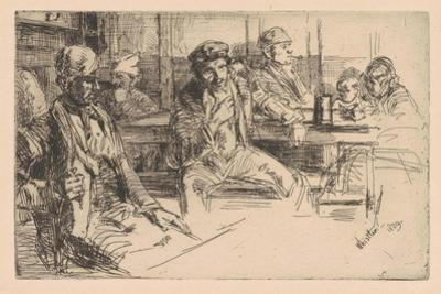 Longshoreman, 1859 by James Abbott McNeill Whistler
