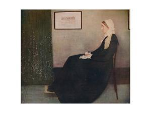 'My Mother', 1871, (c1915) by James Abbott McNeill Whistler