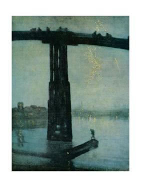 'Nocturne: Blue and Gold - Old Battersea Bridge', c1872-5 by James Abbott McNeill Whistler