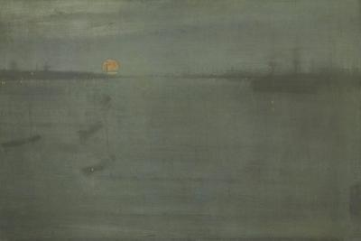Nocturne: Blue and Gold, Southampton Water, 1872 by James Abbott McNeill Whistler