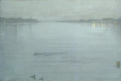 Nocturne: Blue and Silver - Cremorne Lights by James Abbott McNeill Whistler