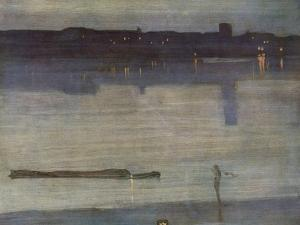Nocturne in Blue and Green by James Abbott McNeill Whistler