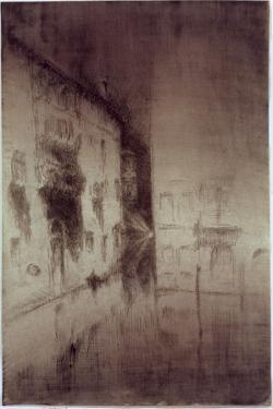 Nocturne: Palaces, 1879-80 by James Abbott McNeill Whistler