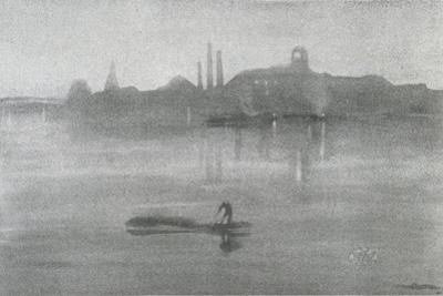 Nocturne: the River at Battersea, 1878 by James Abbott McNeill Whistler