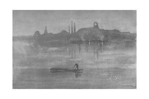 'Nocturne: The Thames at Battersea', 1878, (1904) by James Abbott McNeill Whistler