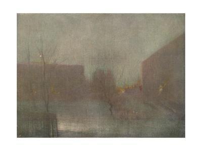 'Nocturne Trafalgar Square Chelsea Snow', 1876 (1903-1904).