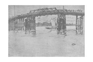 'Old Battersea Bridge', 1879, (1904) by James Abbott McNeill Whistler