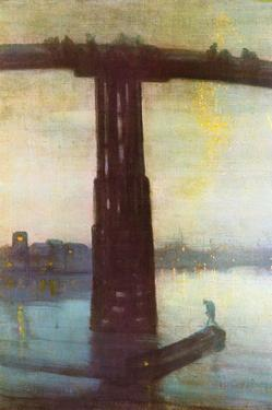 Old Battersea Bridge by James Abbott McNeill Whistler