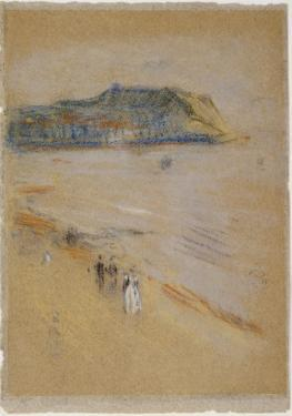 On the Beach, Hastings by James Abbott McNeill Whistler