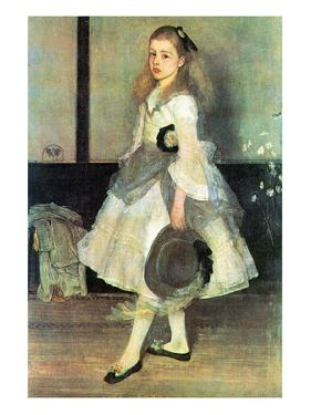 Portrait of Miss Alexander by James Abbott McNeill Whistler