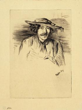 Portrait of Whistler, 1859 by James Abbott McNeill Whistler