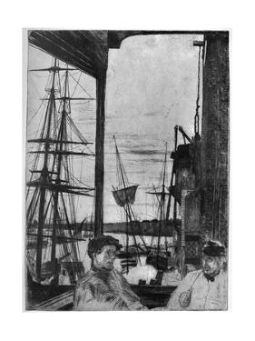 Rotherhithe, 1860 by James Abbott McNeill Whistler