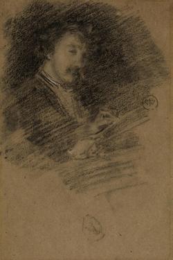 Self Portrait, 1871-73 by James Abbott McNeill Whistler