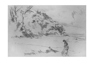 'Speke Shore', c1875 by James Abbott McNeill Whistler