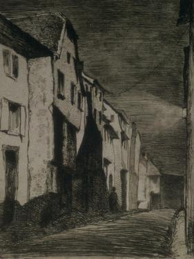 Street in Saverne, 1858 by James Abbott McNeill Whistler
