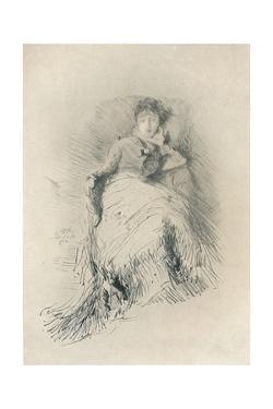 'Study', 1878, (1904) by James Abbott McNeill Whistler