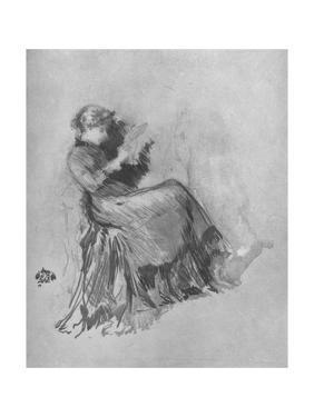 'Study', c1880, (1904) by James Abbott McNeill Whistler