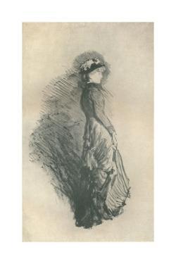 'Study: Standing Figure', 1878, (1904) by James Abbott McNeill Whistler