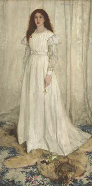 Symphony in White, No. 1: the White Girl, 1862 by James Abbott McNeill Whistler
