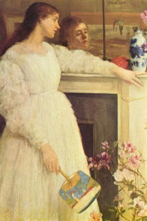Symphony In White No. 2, Girls In White by James Abbott McNeill Whistler
