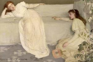 Symphony in White, No. III, 1865-7 by James Abbott McNeill Whistler