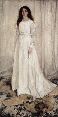 Symphony in White, No by James Abbott McNeill Whistler