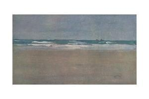 'The Angry Sea', 1884, (1904) by James Abbott McNeill Whistler