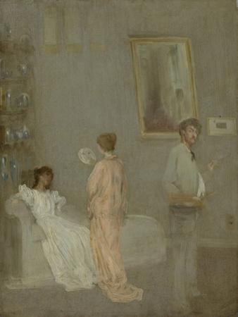 The Artist in His Studio, 1865-66 by James Abbott McNeill Whistler