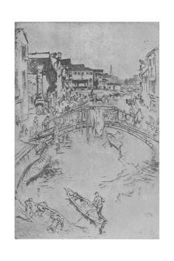 'The Bridge', c1880, (1904) by James Abbott McNeill Whistler