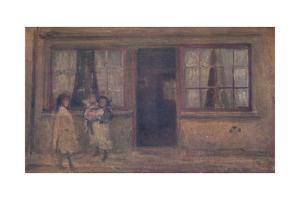 'The Little Nurse', c1881, (1904) by James Abbott McNeill Whistler