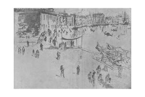 'The Riva, Number Two', c1880, (1904) by James Abbott McNeill Whistler