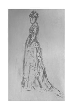 'The Silk Dress', 1875, (1904) by James Abbott McNeill Whistler