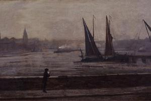 The Thames from Battersea Bridge, 1863 by James Abbott McNeill Whistler
