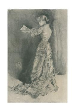 'The Toilet', 1878, (1904) by James Abbott McNeill Whistler