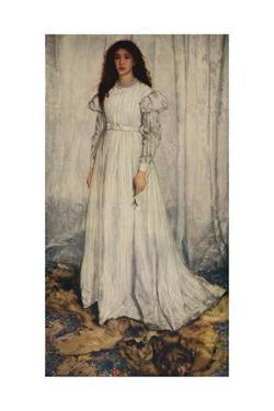 'The White Girl', 1862 by James Abbott McNeill Whistler