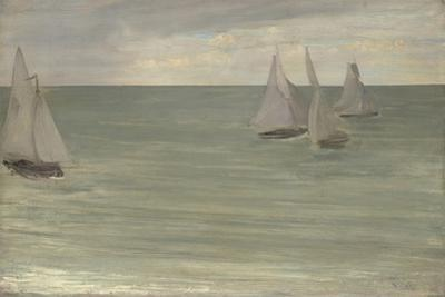 Trouville , 1865 by James Abbott McNeill Whistler