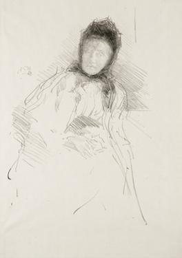 Unfinished Sketch of Lady Haden, 1895 by James Abbott McNeill Whistler