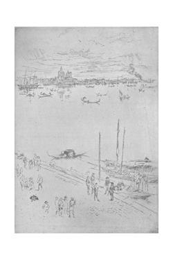 'Upright Venice', c1880, (1904) by James Abbott McNeill Whistler