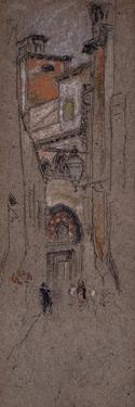 Venice Street, 1879/80 by James Abbott McNeill Whistler