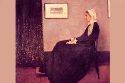 Whistler's Mother by James Abbott McNeill Whistler