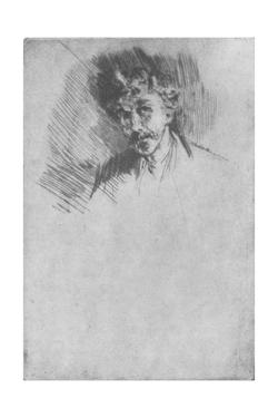 'Whistler with the White Lock', 1879, (1904) by James Abbott McNeill Whistler