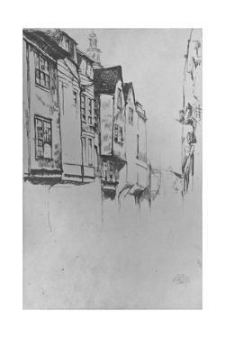 'Wych Street', 1877 by James Abbott McNeill Whistler